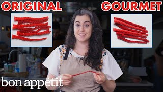 Pastry Chef Attempts To Make Gourmet Twizzlers | Gourmet Makes | Bon Appétit