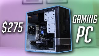 Intel & AMD $275 Gaming PC