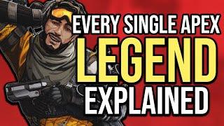 Every Single Apex Legend Explained - Part 1
