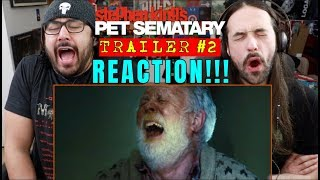 PET SEMATARY (2019) - TRAILER #2 - REACTION!!!