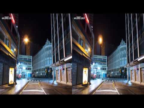 3D - Centro de Curitiba a Noite