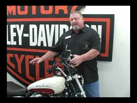 Harley Davidson XL883 Sportster Superlow- I call it super high.