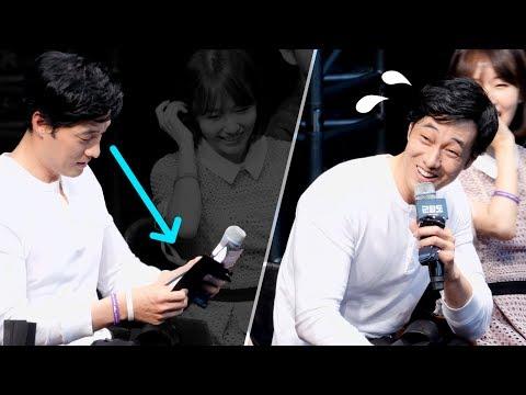 [4K] 소지섭을 당황하게 만든 팬의 질문 _ 영화 '군함도' 쇼케이스