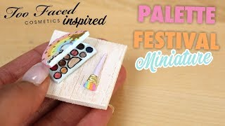 MINI PALETTE DE MAQUILLAGE QUI FONCTIONNE! (Too Faced inspired)⎪Madame Patachou
