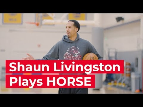 Shaun Livingston Plays a game of HORSE with a fan