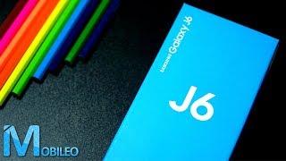 Samsung Galaxy J6 – rozpakowanie   Jak sprawuje się TANI smartfon od Samsunga? 2018