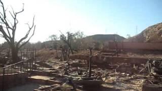 Oakridge Mobile Home Park fire- Sylmar, Ca