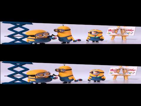Despicable me 2 3D - Best scenes in 3D [PART 2]