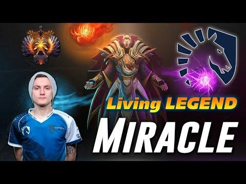 Miracle Invoker | Living LEGEND | Dota 2 Pro Gameplay