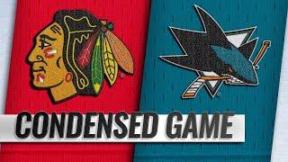 03/03/19 Condensed Game: Blackhawks @ Sharks