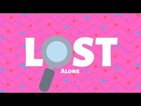 Alone. - Lost (Official Lyric Video)