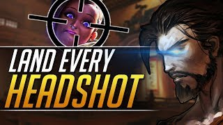 MASTER HEADSHOTS ON HANZO - How Pro Players Do it - Overwatch Tricks Guide