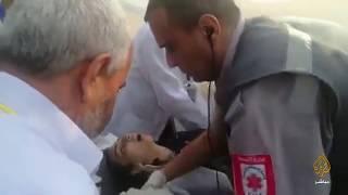 فيديو مؤثر.. لحظة استشهاد مسعفة فلسطينية برصاص الاحتلال في غزة ...