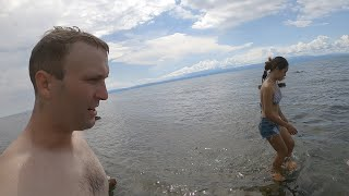 Fun day at the beach - Eating fish over a fire, swimming, snorkeling - Philippines Life