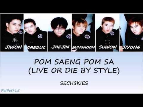 PomSaengPomSa (사나이 가는 길 [폼생폼사]) - Sechs Kies(젝스키스) || HAN/ROM/ENG || Color Coded Lyrics