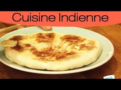 cuisiner indien naan au fromage maison youtube. Black Bedroom Furniture Sets. Home Design Ideas