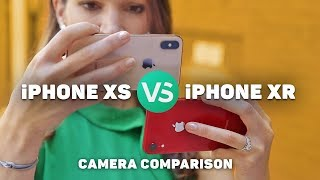 iPhone XR vs. iPhone XS camera comparison