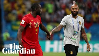 Olivier Giroud jokes Thierry Henry has chosen wrong camp before France v Belgium