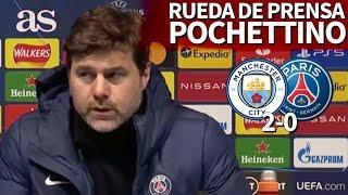 MANCHESTER CITY 2 - PSG 0 | Rueda de prensa de POCHETTINO | Diario AS