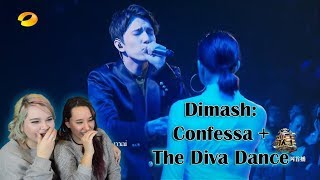 Dimash- Confessa+Diva Dance Live Performance Reaction | This Turned Us To Jello...
