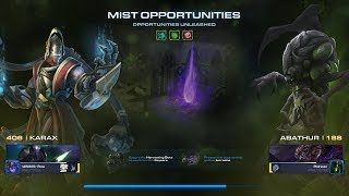 StarCraft 2 [PC] - Co-op: Mist Opportunities (Opportunities Unleashed Mutation) [Karax/Abathur]