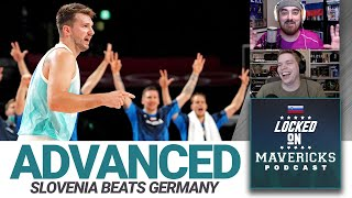 Luka Doncic & Slovenia Advance past Germany in the Tokyo Olympics   Locked On Mavs Podcast Clip