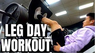 Full Leg Day Workout | FREE SPRING WORKOUT PROGRAM