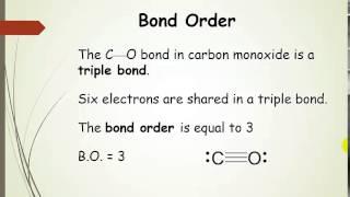 Bond Order, Bond Lengths, and Bond Strengths