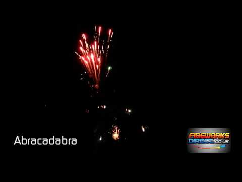 Abracadabra - 25 shot firework