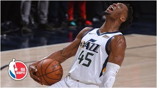 Donovan Mitchell, Jazz avoid being swept with Game 4 win vs. Rockets   NBA Highlights