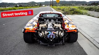 FIRST DRIVE - REBUILDING MY LAMBORGHINI WITH TWIN TURBOS! *1000 HP*