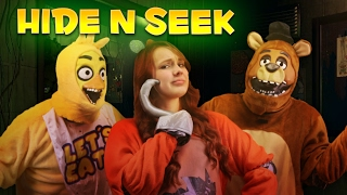 FREDDY ESCAPED!?! FIVE NIGHT'S AT FREDDY'S REAL LIFE HIDE AND SEEK CHALLENGE!