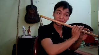 Mấy nhịp cầu tre (Sáo La trầm ) -Flute- Huy Hiệu/WEBSITE :www.saotruchuyhieu.com