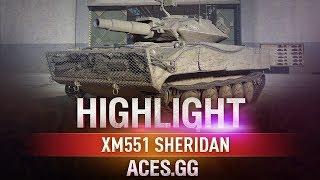 Шериф в деле! XM551 Sheridan