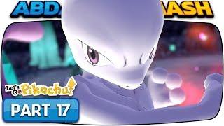 Pokemon Let's Go Pikachu & Eevee - Part 17: MEWTWO! (100% Walkthrough)