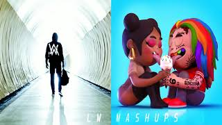 Fefaded - Alan Walker vs 6ix9ine & Nicki Minaj (Mashup)