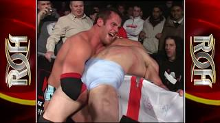 ROH Roderick Strong vs PAC (Neville)