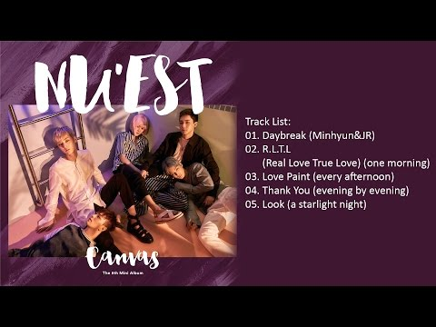 [Full Album] NU'EST (뉴이스트) - The 5th Mini Album 'CANVAS'