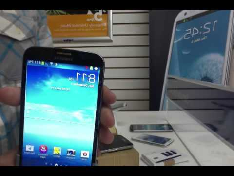 Samsung Mega vs. Samsung Galaxy