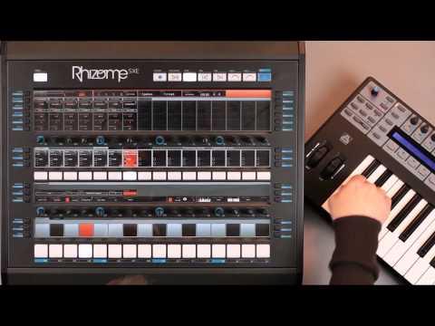 Rhizome tutorials : MIDI synchronization, Controller assignation, Software synchronization