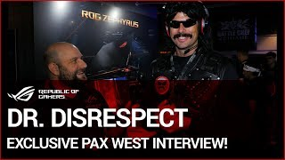 PAX West 2017: Dr. Disrespect Exclusive Interview!