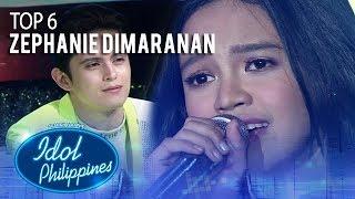 "Zephanie Dimaranan sings ""Huwag Ka Nang Umiyak"" | Live Round | Idol Philippines 2019"