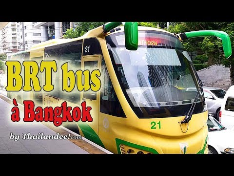 transports à bangkok: les bus brt