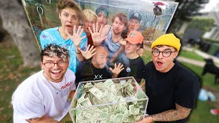 Last Youtuber To Leave The Box, Wins $10,000 (BOYS EDITION)