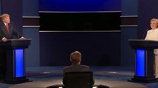 "Donald Trump and Hillary Clinton on ""Putin's puppet"""