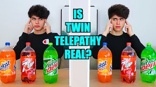 REAL TWIN TELEPATHY TEST