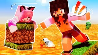 Minecraft But The Lava Rises Every Minute