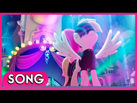 Songbird Serenade performs ''Rainbow'' (Full Scene/Credits) - My Little Pony: The Movie [HD]