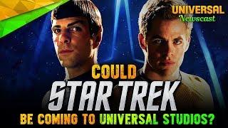 Is STAR TREK, Terminator 2: 3D's Replacement? - Universal Studios News 10/04/2017