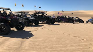 Glamis October 17th th 2018. Breaking In My 244hp RZR Upgraded Turbo/ Blow Off Valve Sound So Nice